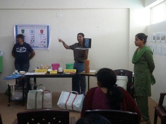 Raku Volunteering Gallery Segregation and Composting workshop Jan 2016