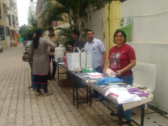 Raku Volunteering Gallery Segregation and Composting awareness Aug 2016