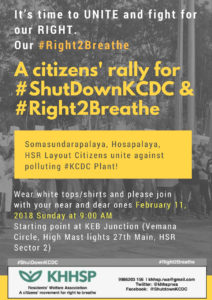 Citizens' Rally for Right2Breathe